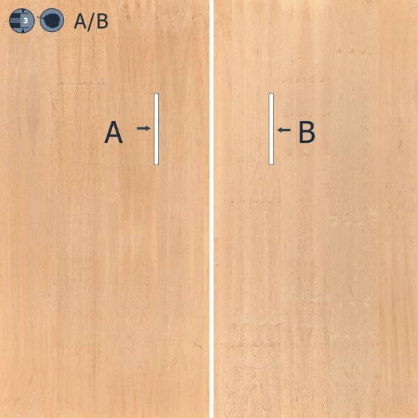 Biodeska OLŠE 20 mm A/B eko 2500x1250, 10 % (±3 %) - SWP/2 (interér/exteriér) - Matili EKO Rakousko Biodeska, Matili EKO